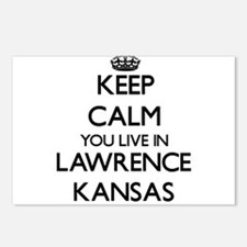Keep calm you live in Law Postcards (Package of 8)