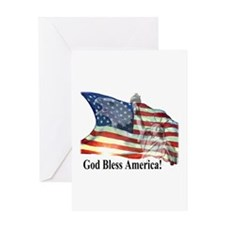 God Bless America! Greeting Card