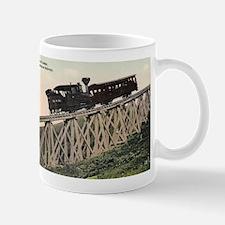 Cog Railway, Mount Washington, 1910 Mug Mugs