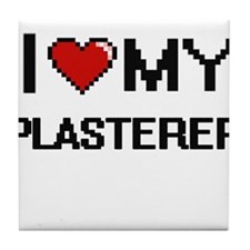 I love my Plasterer Tile Coaster