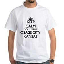 Keep calm you live in Osage City Kan Shirt