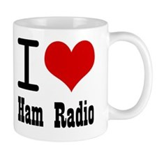 I Love Ham Radio Mug
