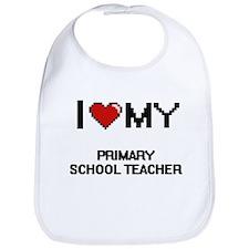 I love my Primary School Teacher Bib