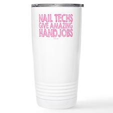 Nail Technician Hand Jo Travel Mug