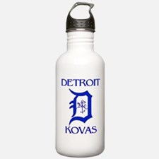 Kovas Logo - BLUE 3.pn Water Bottle