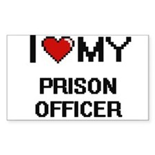 I love my Prison Officer Decal