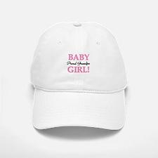 Baby Girl Proud Grandpa Baseball Baseball Cap
