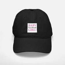 Baby Girl Proud Grandpa Baseball Hat