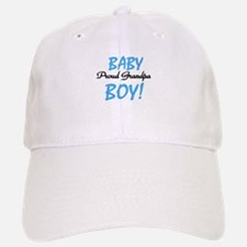Baby Boy Proud Grandpa Baseball Baseball Cap