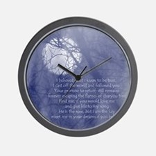 Moon Song Wall Clock