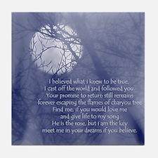 Moon Song Tile Coaster