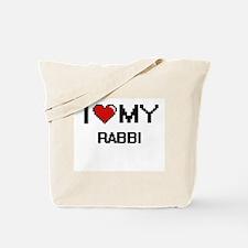 I love my Rabbi Tote Bag