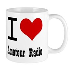 I Love Amateur Radio Mug