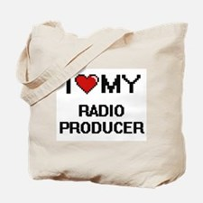 I love my Radio Producer Tote Bag