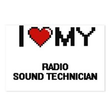 I love my Radio Sound Tec Postcards (Package of 8)