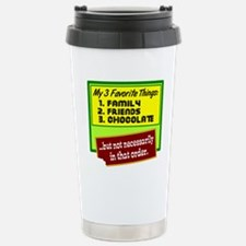 Favorite Things/Chocolate Travel Mug
