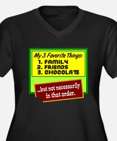 Favorite Things/Chocolate Plus Size T-Shirt