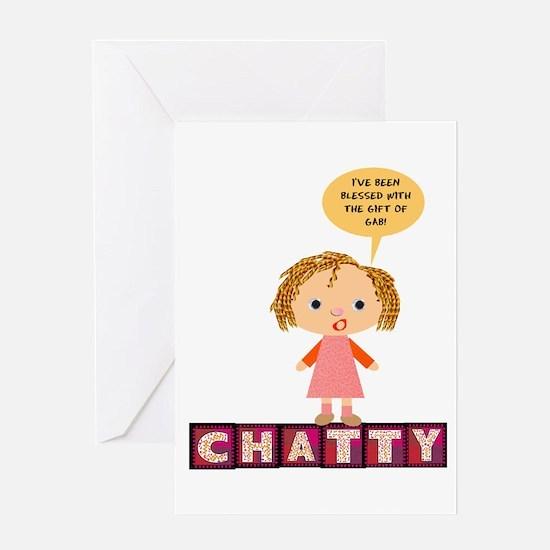 Chatty Greeting Card