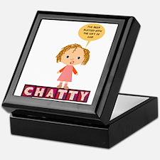 Chatty Keepsake Box