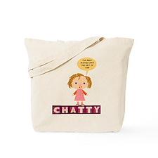 Chatty Tote Bag