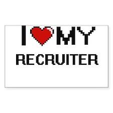 I love my Recruiter Decal