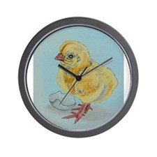 Baby Chicken Wall Clock