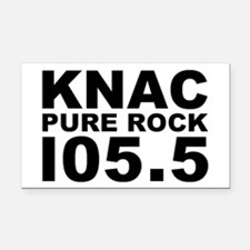 PURE ROCK KNAC Rectangle Car Magnet