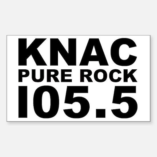 PURE ROCK KNAC Sticker (Rectangle)