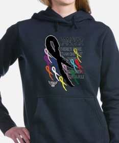 Cancer more than one Women's Hooded Sweatshirt