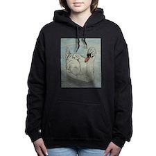 Mute Swan Women's Hooded Sweatshirt