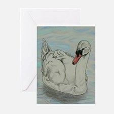 Mute Swan Greeting Cards
