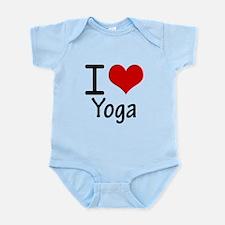 I Love Yoga Body Suit