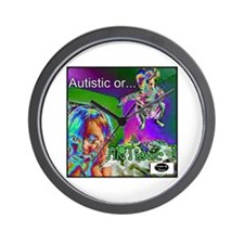 Autistic or ARTistic Wall Clock