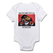 Motorcycle Wheek! Infant Bodysuit
