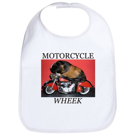 Motorcycle Wheek! Bib