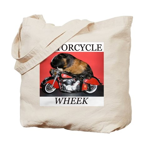 Motorcycle Wheek! Tote Bag