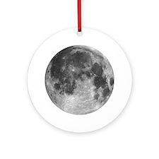 Beautiful full moon Ornament (Round)