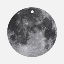 Beautiful full moon Ornament (Round)