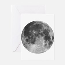 Beautiful full moon Greeting Cards