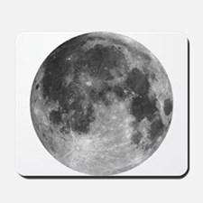 Beautiful full moon Mousepad