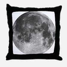 Beautiful full moon Throw Pillow