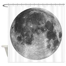 Beautiful full moon Shower Curtain