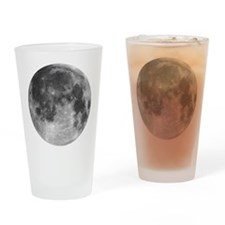 Beautiful full moon Drinking Glass