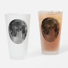 Beautiful full moon Drinking Glass