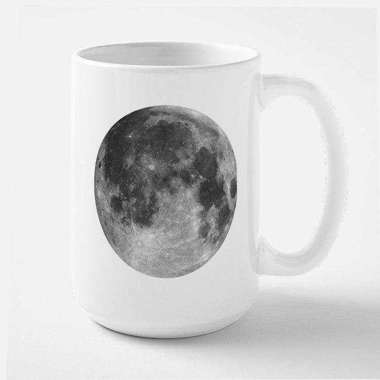 Beautiful full moon Mugs