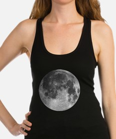 Beautiful full moon Racerback Tank Top
