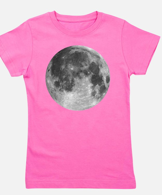 Beautiful full moon Girl's Tee