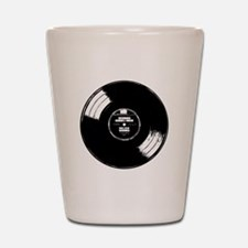 Vinyl record Shot Glass