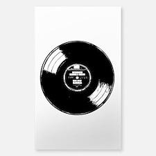 Vinyl record Sticker (Rectangle)