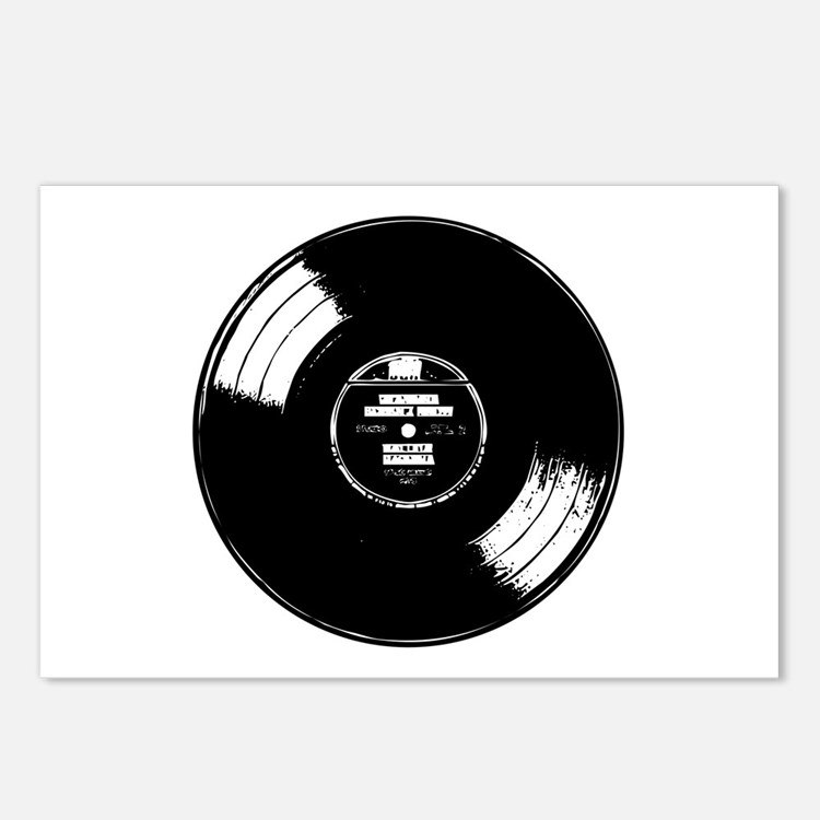 Vinyl record Postcards (Package of 8)